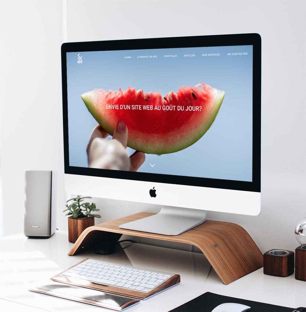 Ma présence digitale site web